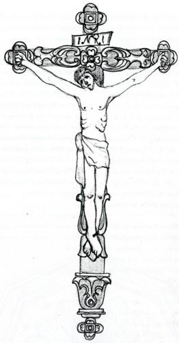 Berühmt Malvorlage Von Jesus Am Kreuz Ideen - Dokumentationsvorlage ...