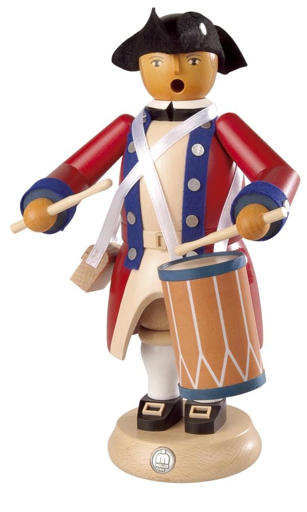 Räuchermann Militär-Trommler, 24cm