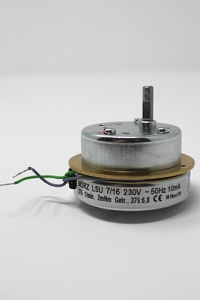 Motor for electrical pyramids voltage 230