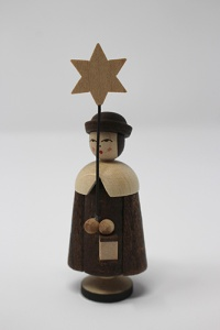 Caroler with lantern and star 6,5 cm