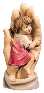 Schützende Hand Mädchen 11 cm