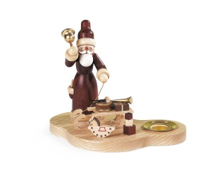 Candleholder Santa with sledge