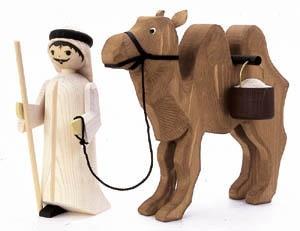 Treiber mit Kamel&Eimer, 22 cm,