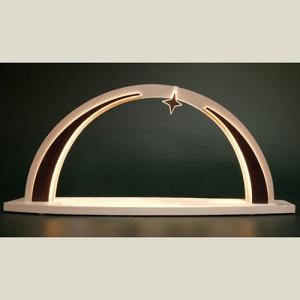 SB modern wood, groß, mit Stern,