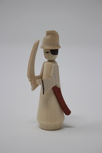 Soldier with sword