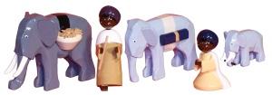 Elefantentreiber, 7 cm,