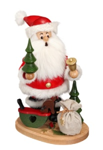 Santa Claus Smoking Figures