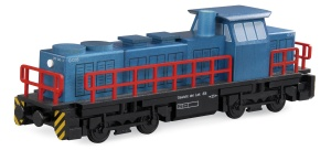 Diesel Locomotive wooden model scale 1:60