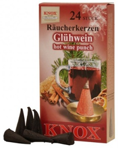 Incense candle, hot wine punch