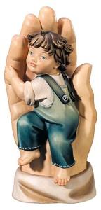 Schützende Hand Bub 11 cm
