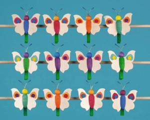 Schmetterling mit Punkten
