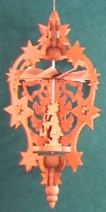 Hängepyramide Stern