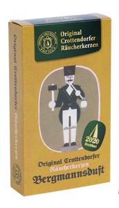 Crottendorfer Räucherkerzen- Limitierte Nostalgie-Edition