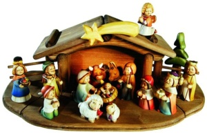Nativity Scene and Figurines