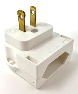 Adapterstecker für US/ JP, weiß