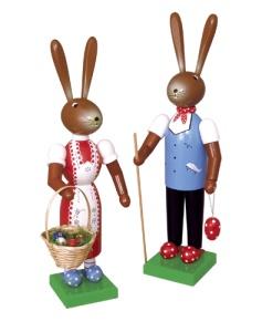 Osterhasenpaar