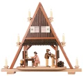 Pointed gable toy-makers
