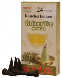 Incense candle, green tea