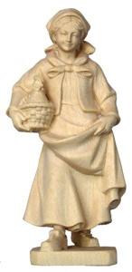 Bäuerin mit Henne 14 cm