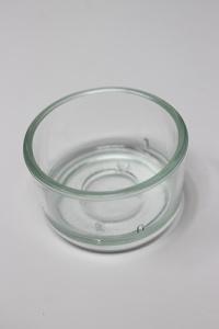 Glas for tealights, 1pcs.