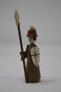 Soldier with spear
