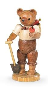 Bear, male, gardener